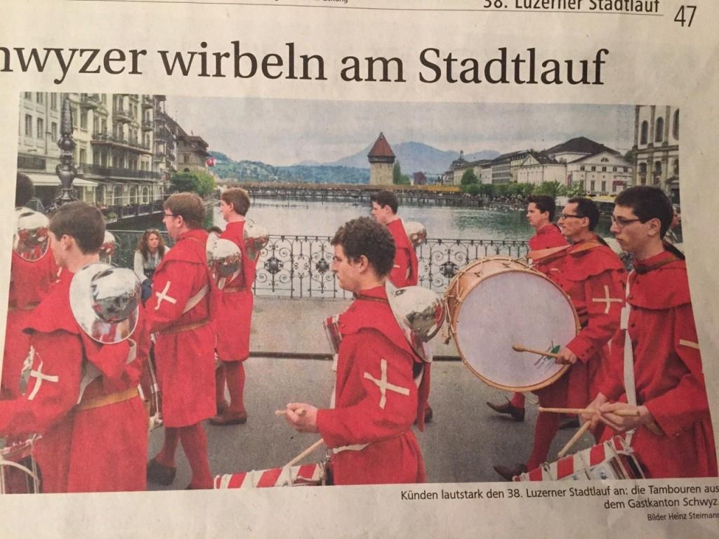 2015 Altstadtlauf Luzern mit Wasserturm
