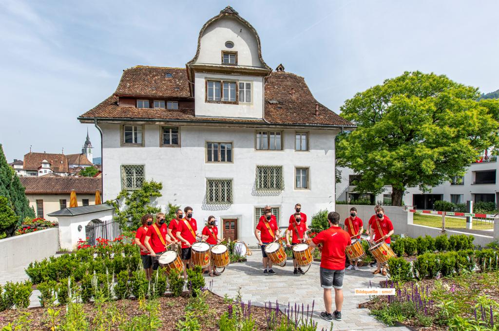 Tambourenverein Schwyz im Juni 2021